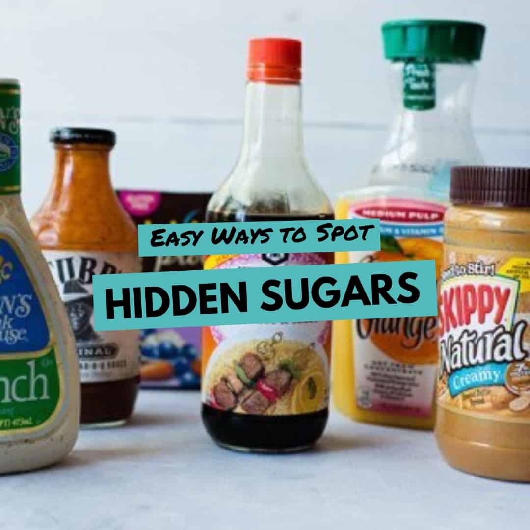 6 Easy Ways to Spot Hidden Sugars in Foods + 12 Foods That Have Shockingly More Sugar Than You Think
