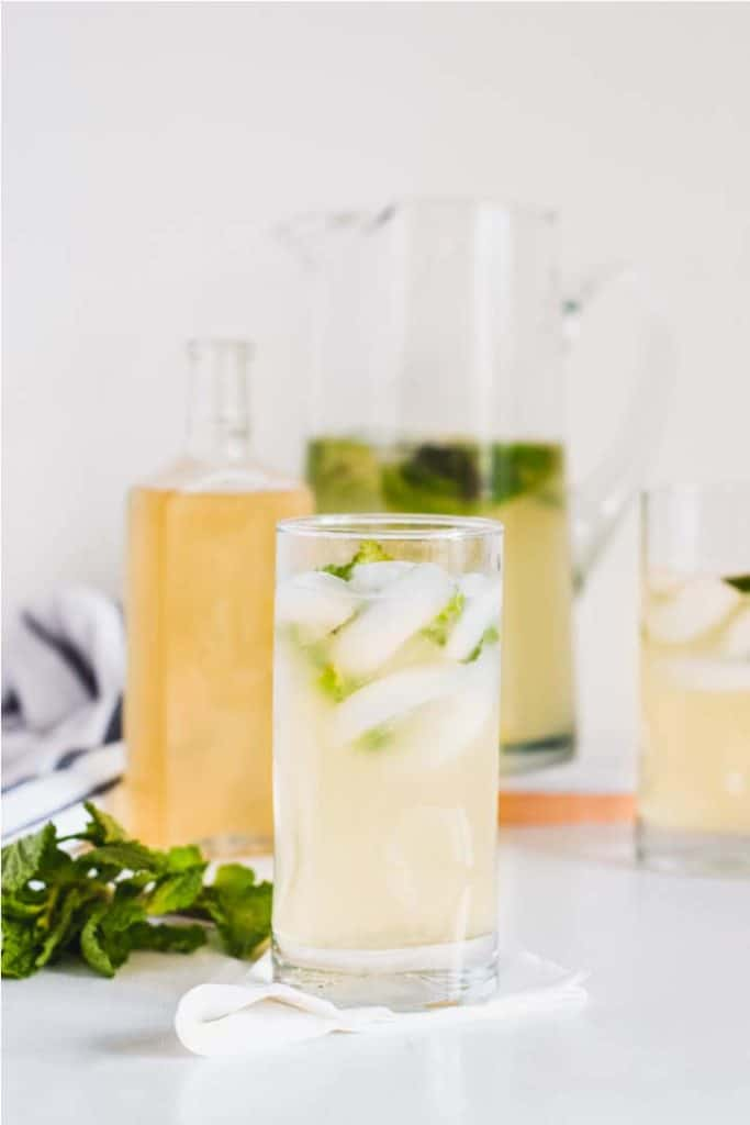 Are you looking for a fresh and tangy way to quench your thirst? This Healthy Mint Lemonade will soon be your favorite refreshing drink!