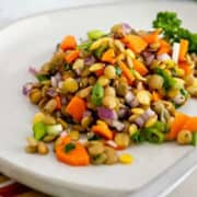 Cold Lentil Salad | A Colorful Superfood Experience