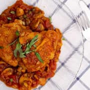 Healthy Chicken Cacciatore | Rich & Savory